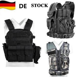 Taktische Weste Kampfmittelweste Modular MOLLE Einsatzweste Tactical Combat Vest