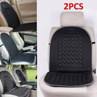 2X Car Van Seat Cushion Orthopaedic Front Seat Cover Protect Back Support