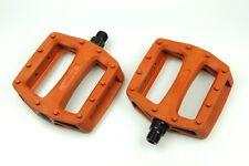 [US SELLER] Wellgo Platform Pedals MTB BMX Road Bike Bicycle Fixed Gear - Brown