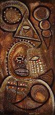 Original Art Painting Cuban ORISHA OLOFI Santeria Cuba  ABEL SOMOZA MARTINEZ 21