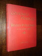 COURAGES FRANÇAIS - Récits d'évasion de la Grande Guerre - L. Bocquet 1921