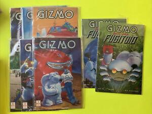 Gizmo 1 2 3 4 5 6 And The Fugutoid 1 2 Vf/nm Lot Mirage Studios Tmnt
