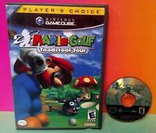 Mario Golf Toadstool Tour  -  Nintendo GameCube Game Rare Tested NGC