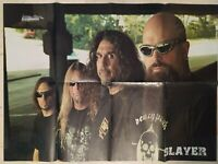 SLAYER / OPETH Double Sided Posters Heavy Metal Thrash Metal