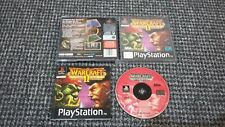 Sony PS1/Playstation 1 Warcraft II The Dark Saga Tested & Working (RS3)