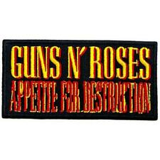 More details for official licensed - guns n roses - appetite for destruction iron/sew on patch