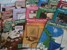 Set of 17 Classic Cross Stitch Magazines