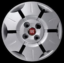 "Fiat Panda Active - Van Kit 4 Copricerchi coppa ruota 13"" logo rosso cod. 1230LR"