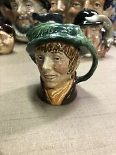 Royal Doulton 3 1/4� Arriet Toby Jug Old A Mark on Bottom - Mint
