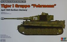 RYE FIELD RM-5005 Tiger I Gruppe Fehrmann April 1945 Northern Germany in 1:35