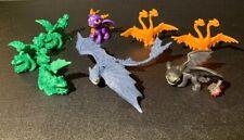"Lot Of 8 How To Train Your Dragon  2"" - 3"" Mini Dragon Figure"