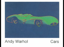 ANDY WARHOL - CARS POSTER - NO RESERVE - (110x140 cm)