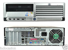 PC CORE 2 DUO 2,13 Ghz HP DC7700SFF 160Gb HDD, 2Gb RAM, DVD, USB, SOBREMESA
