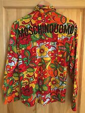 Vintage MOSCHINO Shirt....Hippy, 60s, Beach, Deadstock, Summer, Psychedelic, 90s