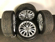 "Set of Four Genuine OE 19"" Audi A6/A7 Alloy Wheels With Dunlop SP Winter Tyres"