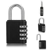 Sicherheit Zahlenschloss Vorhängeschloss Kofferschloss Schlösser Lock 4 Cod N6X8