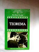 Teorema Pier Paolo Pasolini  Novelas de cine Español Orbis 1987 Colección