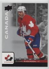 2017 Upper Deck Team Canada Juniors Black Glenn Anderson #3 of 5