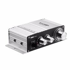 BlitzWolf BW-AP1 20W Mini 12V Hi-Fi Hifi Car Audio Amplifier FM Stereo Radio MP3