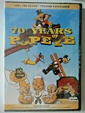 70 Years of Popeye Collector's Edition (DVD, 2000, 1-Disc) new