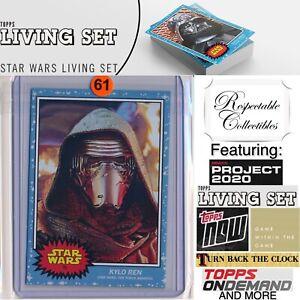 2020 Topps Star Wars Living Set Card #75 Kylo Ren Episode VII: The Force Awakens