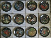 """RUSSIAN LEGENDS Plates """"Fairy Tale """",Complete Set of 12, Collector's condition"""