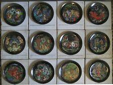 "RUSSIAN LEGENDS Plates ""Fairy Tale "",Complete Set of 12, Collector's condition"