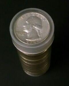 Roll of 1932-1964 Washington 90% Silver Quarters -GoodCondition!