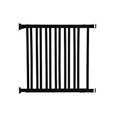 Dreambaby L829 Nelson Adjustable Wood Gate Expresso Hardware Mount NEW