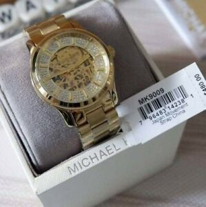 Michael Kors Automatic Gold-ion Stainless Steel Watch MK9009