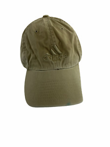 Adidas Hat Cap Mens Fitted 7 1/2 Brown Blue Hiking Hikers Sports