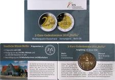 Concèdent COINCARD VFS 2 euro château Charlottenburg-Berlin Brd Gravé-A -