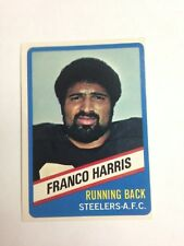 1976 TOPPS # 3 STEELERS FRANCO HARRIS WONDER BREAD -EX-