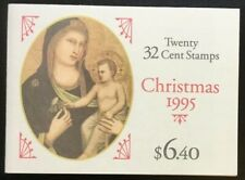 Scott # 3003A 32 Cent Christmas 1995 Booklet of 20 Never Opened Ships Free