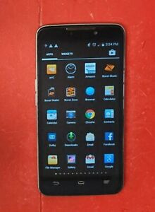 ZTE MAX N9520 - 8GB - Black Silver (Sprint PCS) Smart phone Android