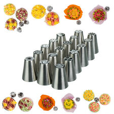 17 x Russian Flower Piping Tips - Mini Value Pack Nifty Nozzles