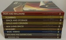 Lot Of 9 Home Repair And Improvement Time Life Hardcover Books
