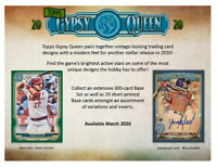 2020 Topps Gypsy Queen Tarot of the Diamond - You choose - Pick your cards