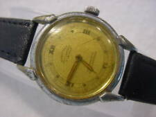 Vintage antique WWII World War II MILITARY CRAWFORD BUMPER AUTOMATIC mens watch