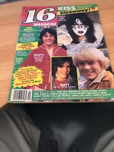 16 MAGAZINE OCTOBER 1980 KISS ACE FREHLEY SCOTT BAIO VILLAGE PEOPLE DUKES OF HAZ