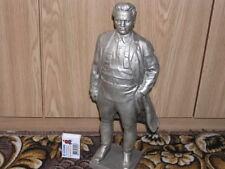 Vintage original Statue figurine figure sculpture of KIROV USSR METAL 4750