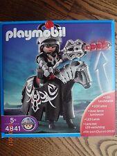 Playmobil ® Drachenreiter mit LED-Leuchtlanze komplett mit Bauanleitung, OVP