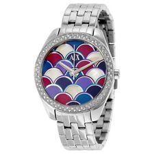 Women's Armani Exchange Sarena Silver Tone Bracelet Watch NEW NWT