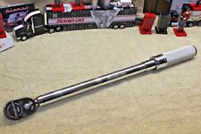 "Snap On QDR3M30 1/2"" Dr Torque Wrench 6-40 KG M GD For BMW Mercedes German"