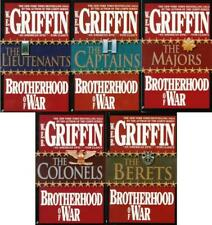 BROTHERHOOD OF WAR Military Fiction Series by WEB Griffin Set of Books 1-5