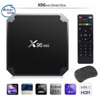 Hot X96 Mini 8G 16G Amlogic S905W Quad Core 4K WIFI Smart Box Android 7.1 F A6B5