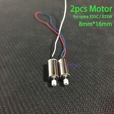 2pcs 8mm*16mm Syma X5S X5SC X5SW Quadcopter RC Drone Set motor engine + gear 9T
