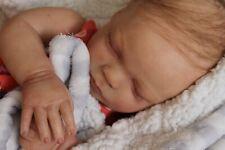 Reborn baby doll sweet newborn baby girl Macey with 3d skin OOAK
