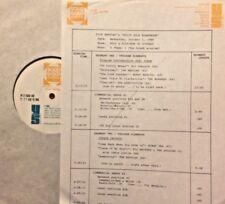 RADIO SHOW: 10/1/86 OCT GOLD! JANIS JOPLIN, NEIL DIAMOND, SANTANA, ROY ORBISON