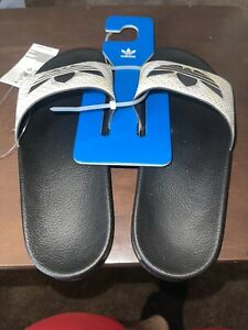 Adidas Adilette Slides Sandals Camo Sand Black FW4391 Made in Italy Men's Size 5